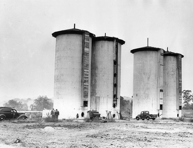 Adohr Milk Farms four 60-foot concrete silos  Order #00113599